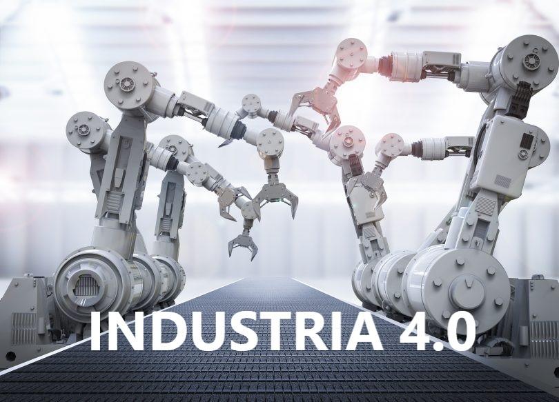 Cadena de montaje con robots