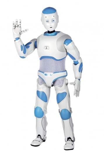 Romeo es un robot humanoide destinado a aprender robótica educativa en las aulas y con los niños. Es un perfecto ejemplo de robot para saber qué es la robótica y la definición de un robot