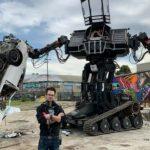 Robot de combate de Megabots Eagly Bird se pone en eBay a subasta. Robot y robótica, campeonato de robots y batalla de robots
