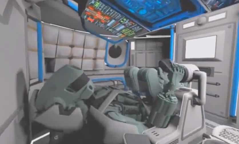robot Fedor Robot humanide espacial militar Fedor creado por rusia y enviado al espacio