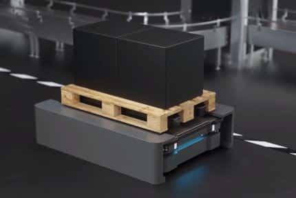 Robot AGV y AIV son vehículos de guiado automaticos inteligentes