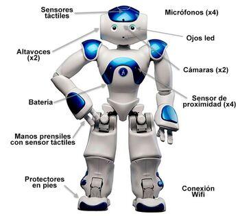 Características, software y dimensiones del Robot Nao v6 y cómo programar el robot NAO