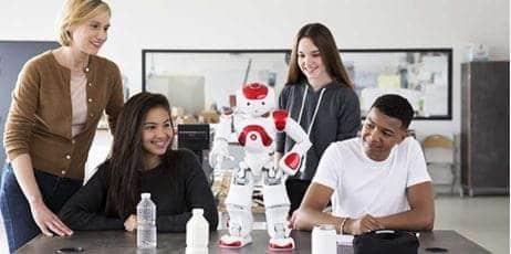 Robot humanoide Nao para interaccionar con las personas