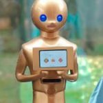 ROBOT MAYORDOMO PARA LAS ESCUELAS, CONGRESOS Y EVENTOS