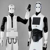 robot humanoide doméstico inteligente