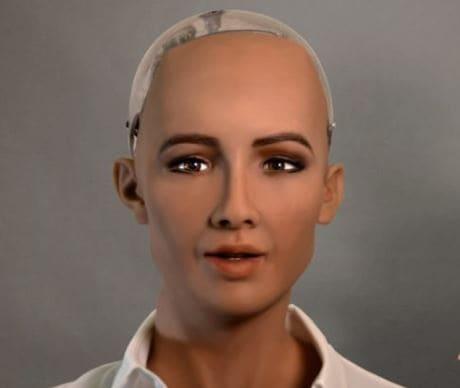 robot humanoide sophia de hanson robotics