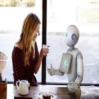 robot pepper para la interacción con las personas