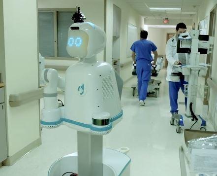 Moxi robot de Diligent Robotics para hospitales
