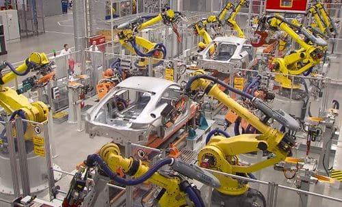 Robots industriales y robótica industrial