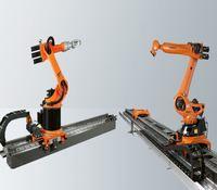 brazo robótico humano y articulado