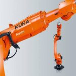 robot KR QUANTEC Foundry de Kuka para fundición, forja y procesados