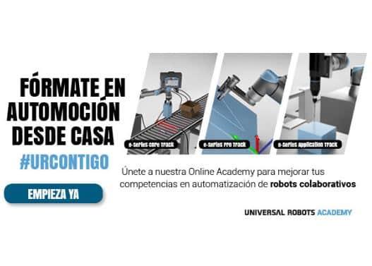 Aprender a programar robots colaborativos de Universal Robots
