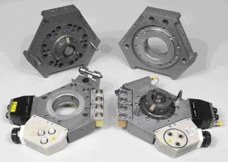Cambios automáticos de herramientas para robots industriales