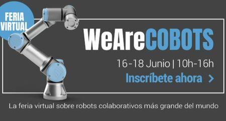 Feria congreso virtual we are cobots de universal robots