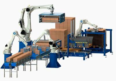 Robots para paletizado y robots paletizadores automáticos