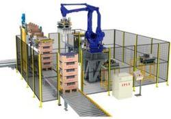 el mejor robot paletizador de palets de envases con gran alcance