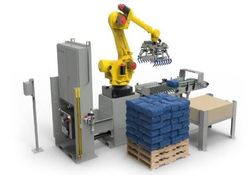 Qué es un robot para paletizado automático inteligente de botellas