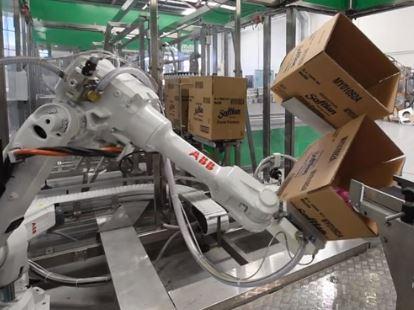 Automatización del Packaging con robots industriales para final de línea