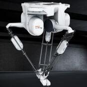 Comprar robot delta y robot paletizador en Cáceres para paletizado de cajas y botellas y envasados