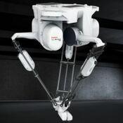 Comprar robot delta y robot paletizador en Las Palmas para paletizado de cajas y botellas y envasados