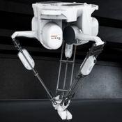 Comprar robot delta y robot paletizador en Madrid para paletizado de cajas, botellas y envasados para automatizar el final de línea para packagin