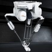 Comprar robot delta y robot paletizador en Soria para paletizado de cajas y botellas y envasados y sistemas informáticos scada