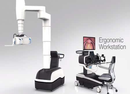 Robot para cirugía robótica Titan Medical Inc