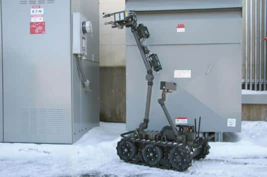 robot centaur de flir del ejército de los estados unidos