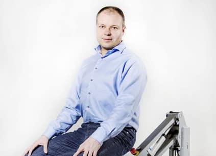 nuevo CEO de MiR Søren E. Nielsen
