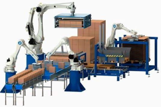 Robot paletizador de cajas de tabaco para automatización del paletizado automático de cajas de tabaco