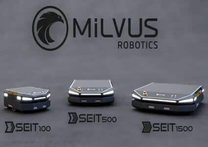 Robots AMR SEIT de Milvus Robotics