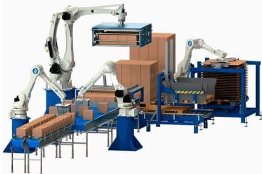 Automatizar el paletizado automático para la automatización del paletizado