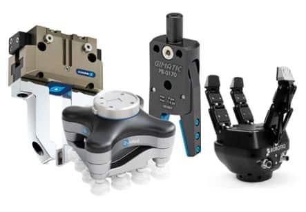 Catálogo y gama de productos en sistemas de agarre y de sujeción