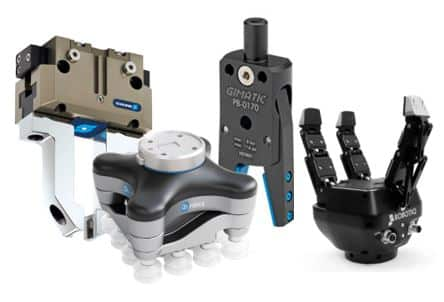 Pinzas paralelas para robots industriales y grippers paralelos robóticos