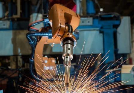 robots de soldadura por arco robotizada