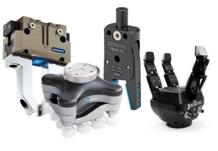 Sistemas de agarre para robots