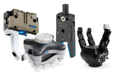 Sistemas de sujeción por vacío para robots y sistemas de agarre por vacío