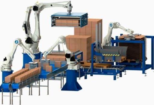 Soluciones de paletizado robotizado y soluciones de despaletizado automático