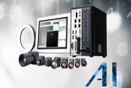 Visión FH de Omron con IA para control de calidad