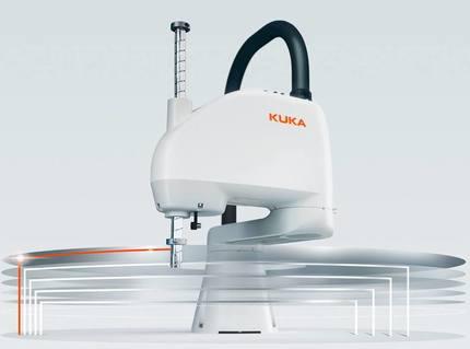 Kuka presenta la serie de robots Scara KR 6 R500/700 Z200