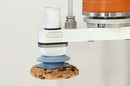 SCHMALZ presenta garra de vacío SFG para manipular galletas y alimentos