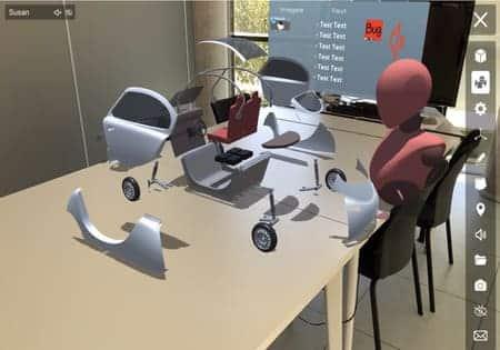 reuniones virtuales en 3D