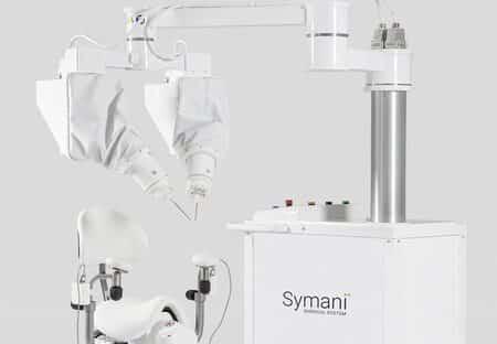 Robot quirúrgico Symani comienza a operar en Europa