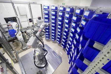 Robots para automatización de farmacias y hospitales