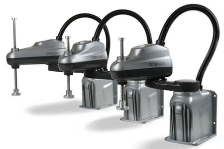 OMRON anuncia la nueva serie de robots Scara i4L