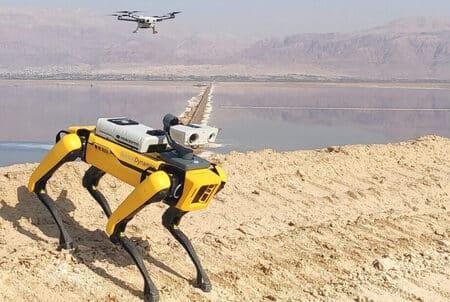 Percepto utiliza al robot Spot para inspecciones industriales