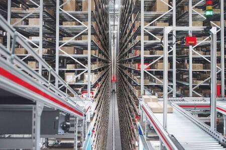 Estanterías automáticas para almacenes inteligentes