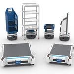 Robots móviles para logística de almacén