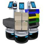 robots móviles autónomos para almacén