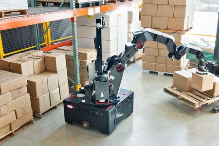 Boston Dynamiscs presenta nueva solución para el paletizado de cajas